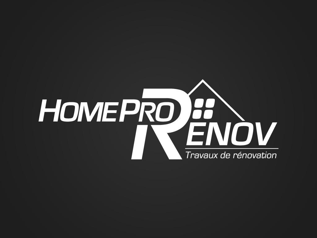 cr ation logo tourcoing home pro renov farouk nasri graphiste freelance. Black Bedroom Furniture Sets. Home Design Ideas