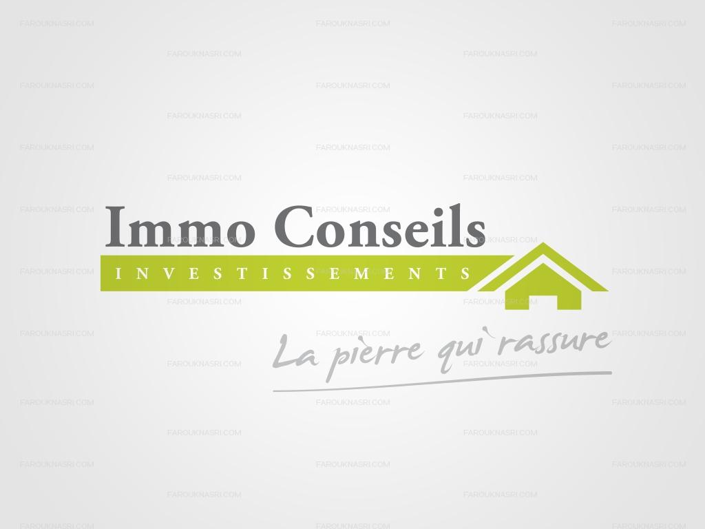 Cr ation logo tourcoing agence immobili re farouk nasri for Conseil immo