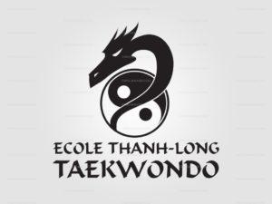Logo de l'Ecole Thanh Long Taekwondo à Neuville-en-Ferrain