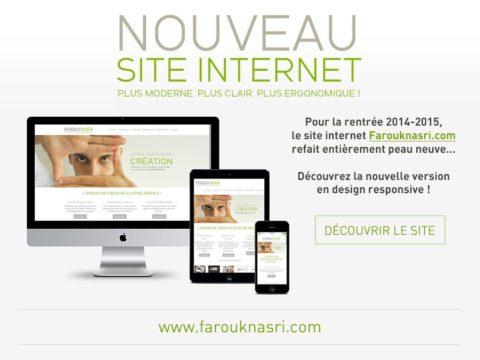 Nouveau site internet responsive Farouknasri.com