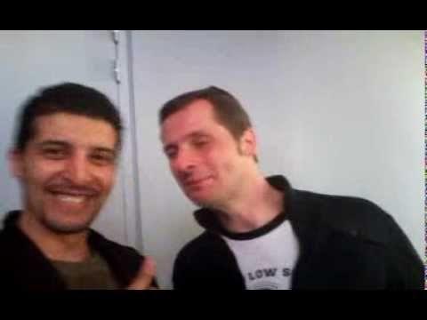 Dédicace de Marcus pour Farouk NASRI à l'expo rétro-gaming de Lambersart