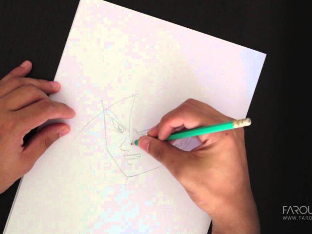 Speed Drawing : comment dessiner un personnage de DRAGON BALL Z ?