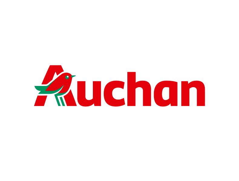 Un nouveau logo pour les magasins AUCHAN