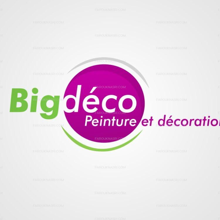 Création de logo - Big Déco