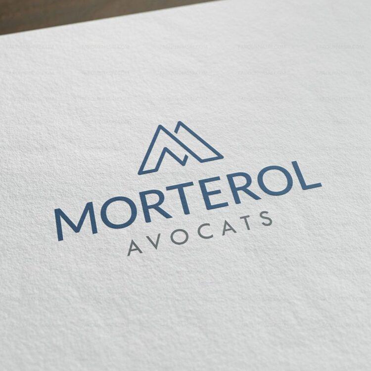 Création de logo pour un cabinet d'avocats. - Morterol Avocats