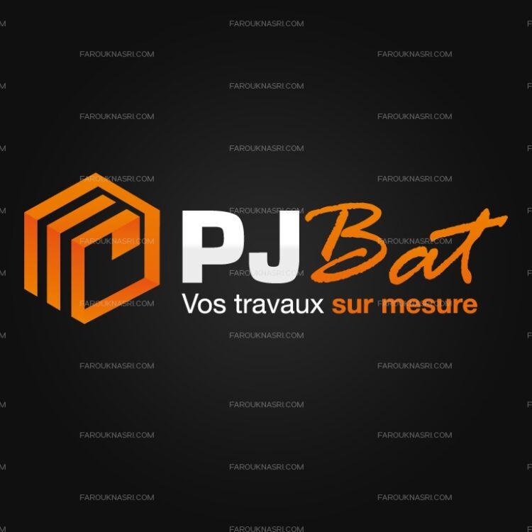 Création de logo - PJ Bat