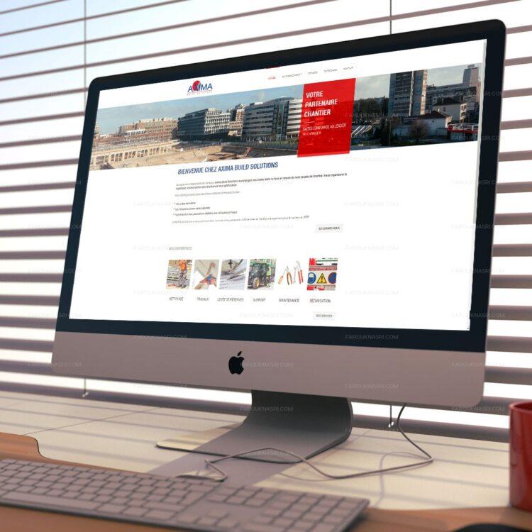 Création de site internet Wordpress - Axima Build Solutions
