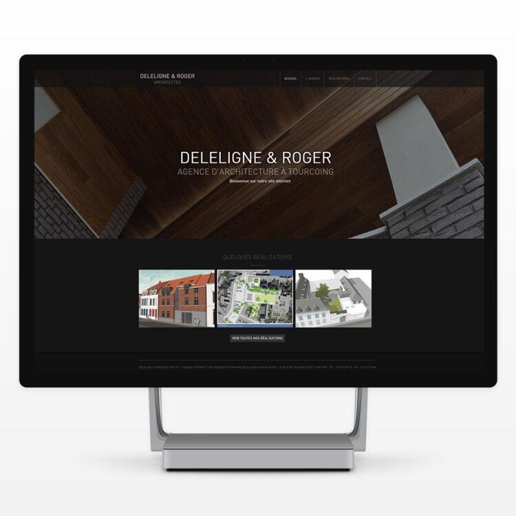 Création de site internet Wordpress - Deleligne & Roger