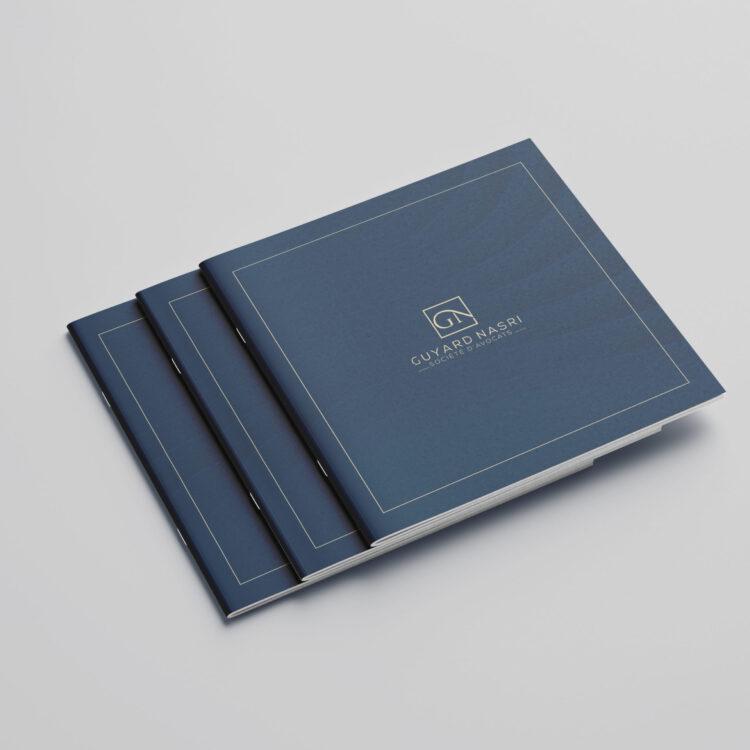Création d'une brochure commerciale Loos - Guyard-Nasri