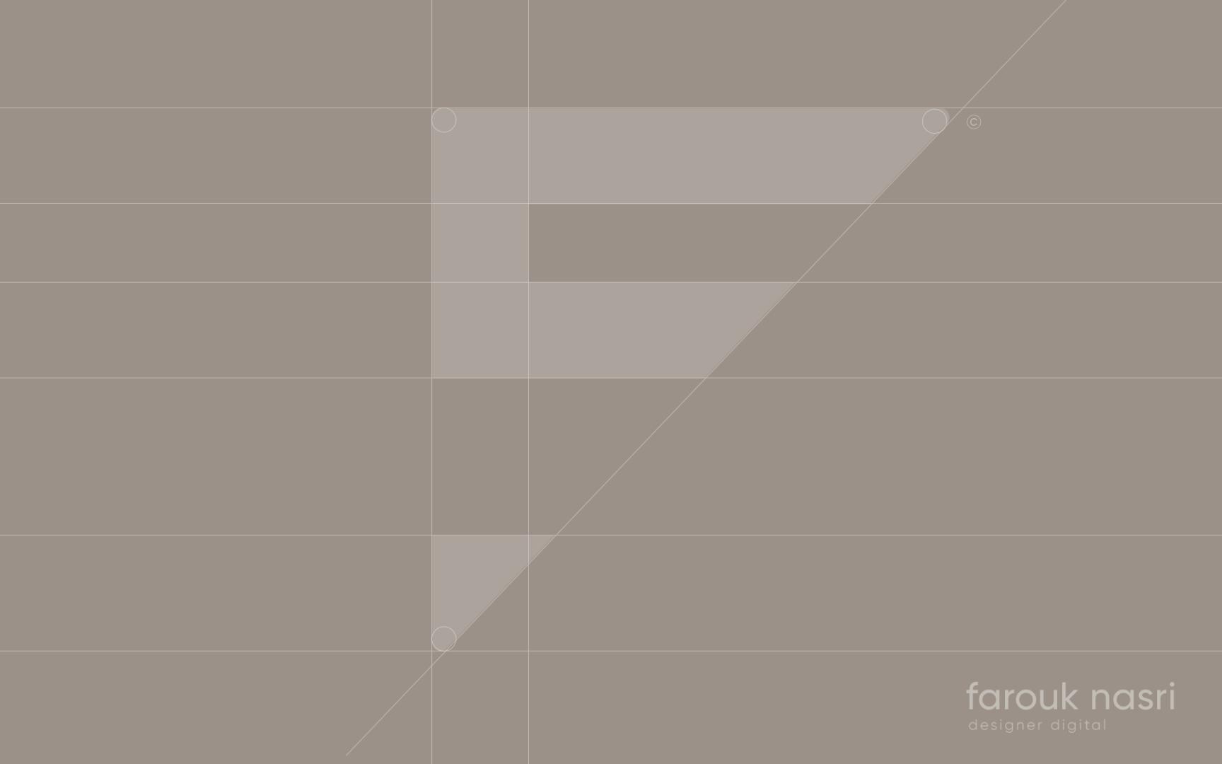 Vectorisation du logo Farouk Nasri sous Illustrator