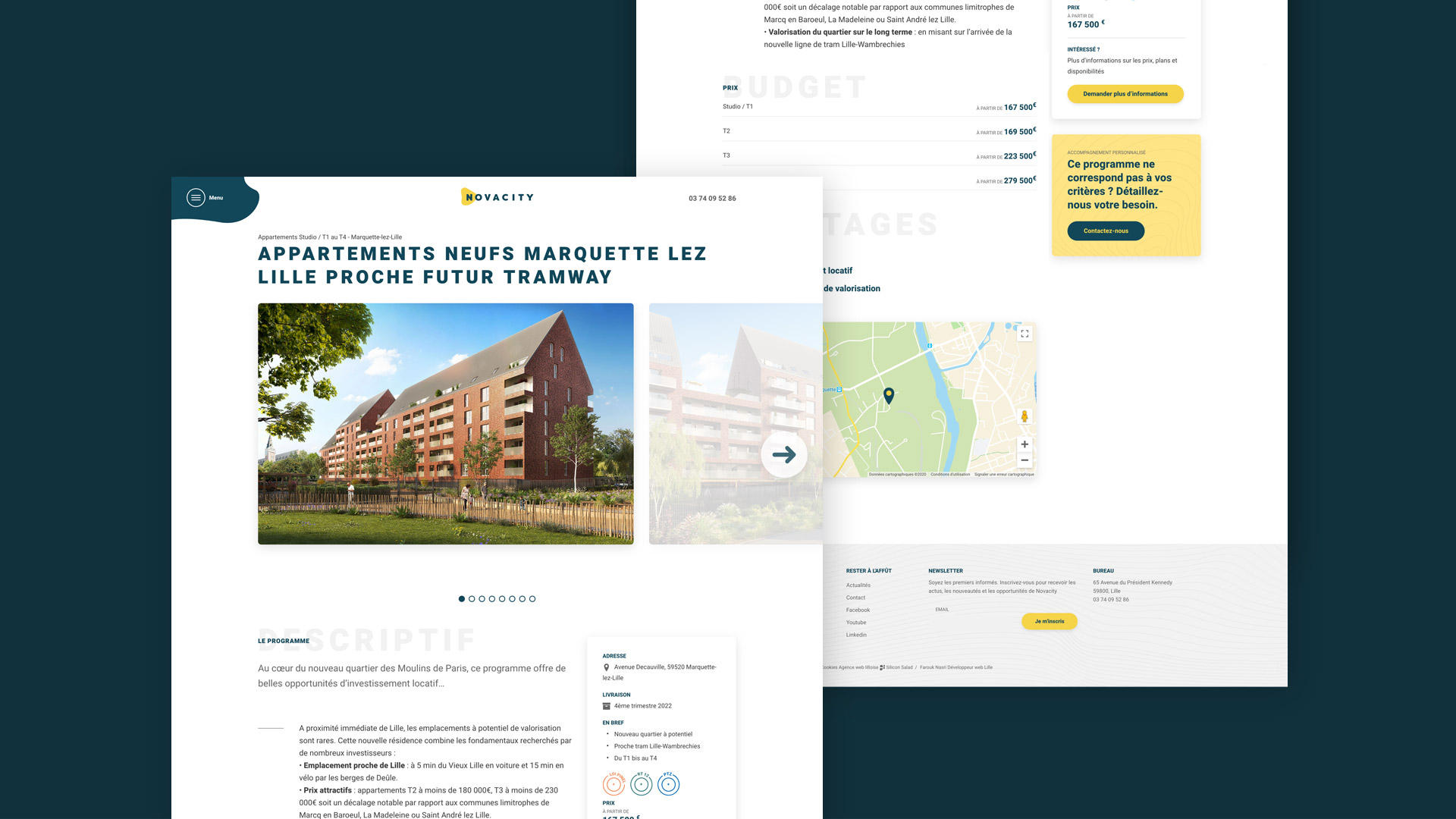agence web immobilier Lille