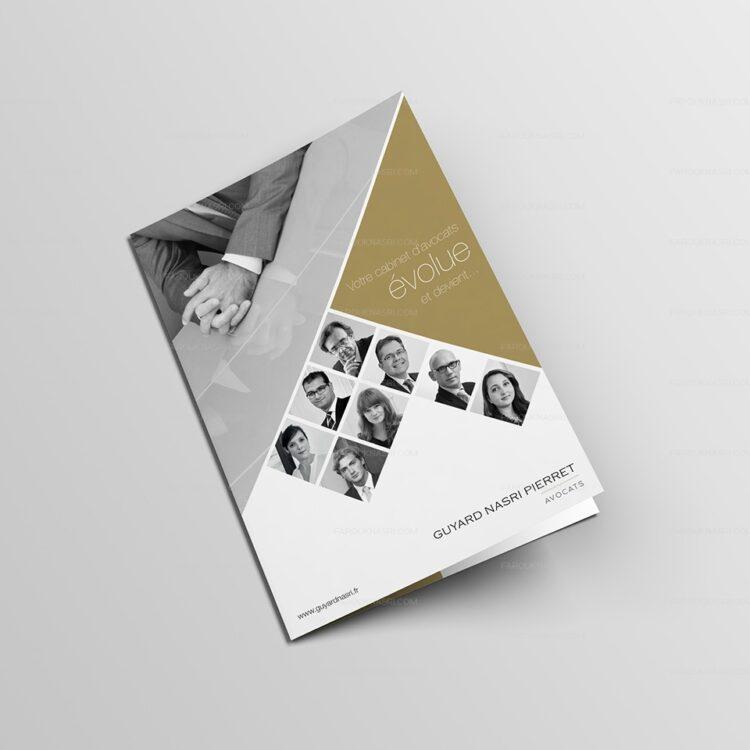 Création de plaquette commerciale - Guyard Nasri