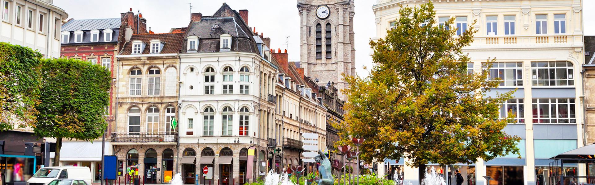 Photo de Douai, à proximité de l'agence web douaisienne Farouk Nasri