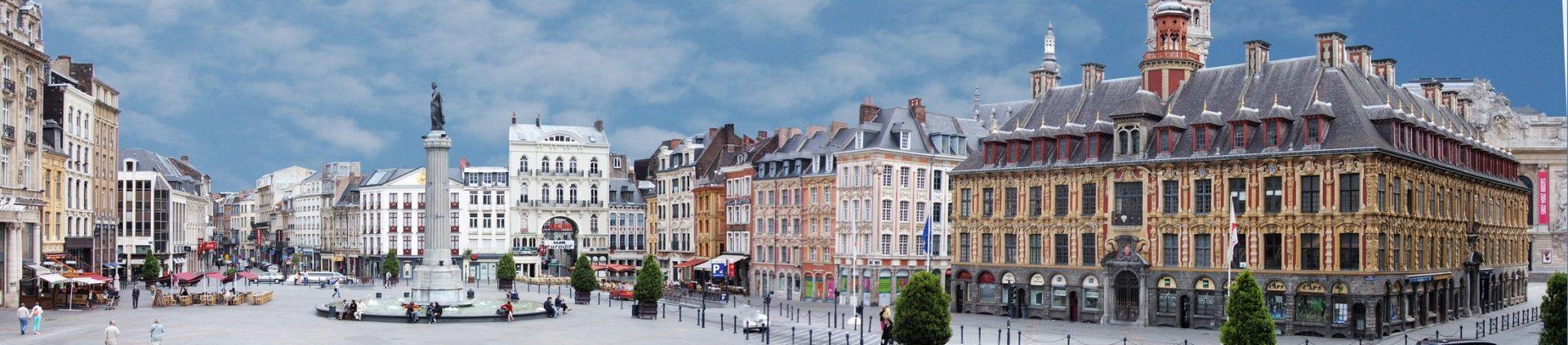 Photo de la Grand-Place de Lille, à proximité de l'agence web lilloise Farouk Nasri