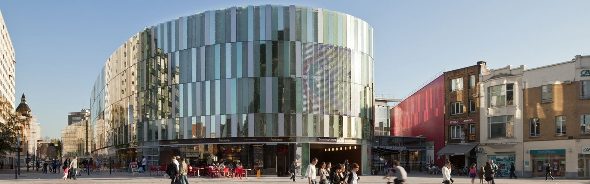 Photo du centre-ville de Tourcoing, à proximité de l'agence web tourquennoise Farouk Nasri