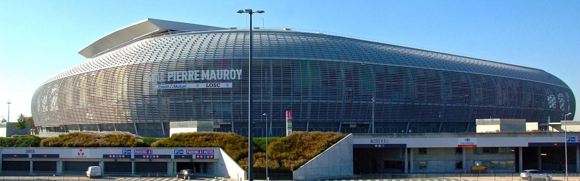 Photo du Grand Stade de Villeneuve d'Ascq, à proximité de l'agence web villeneuvoise Farouk Nasri
