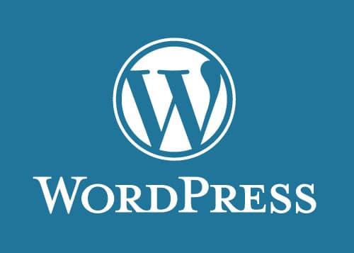 Logo Wordpress, solution CMS la plus pratique pour la création d'un site internet à Paris ou en Île-de-France