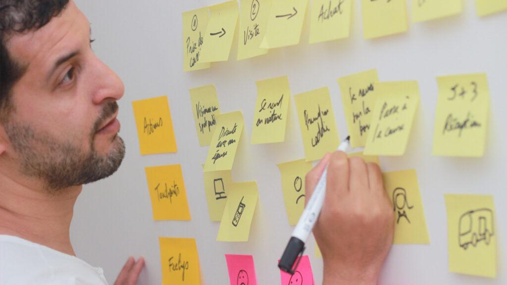 Atelier UX par l'agence UX UI design à Lille