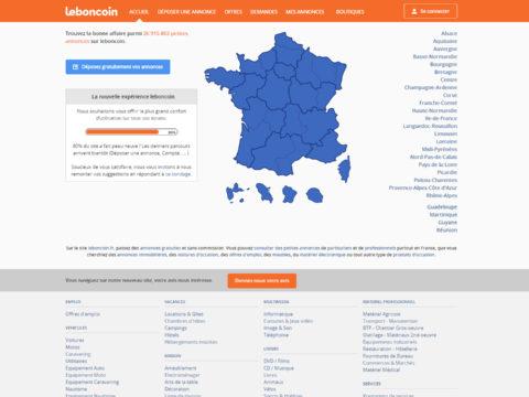 Leboncoin.fr : Nouveau design & nouveau logo